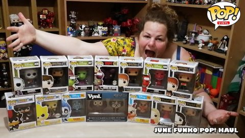 Our June Funko Pop Haul!