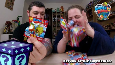 Return of the Superzings! - Show & Tell SuperHeroes