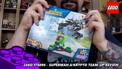 Superman & Krypto Team-Up - Review  (Lego #76096 - DC Superheroes)