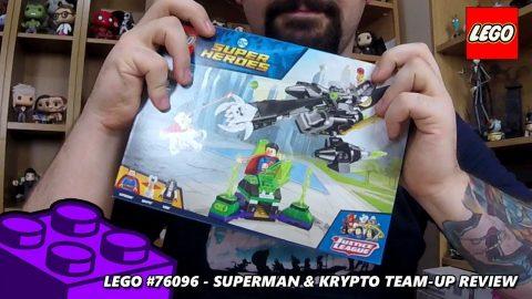 Superman & Krypto Team-Up - Review  (Lego #76096 - DC Superheroes)