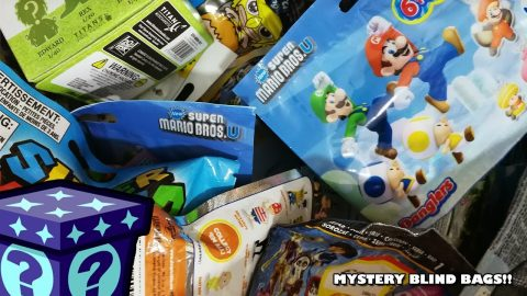 Zelda Backpack Hangers, Crossy Roads & More - Mystery Blind Bags #77