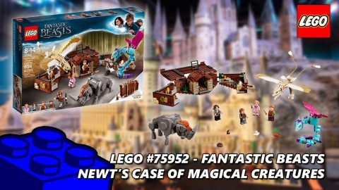 Lego #75952 Fantastic Beasts Newt's Case of Magical Creatures Review | Lego Build