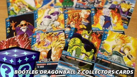 Bootleg Dragonball Z Collectors Cards