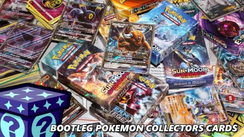 Bootleg Pokemon Collectors Cards
