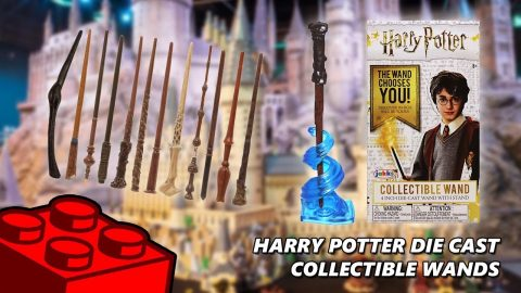 Harry Potter Die Cast Collectable Wands