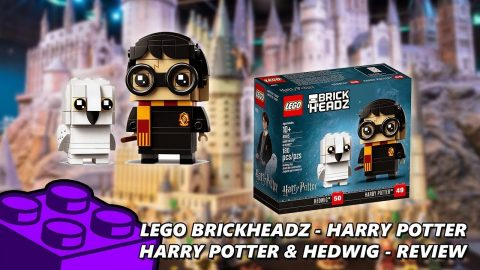 Lego #41615 - Brickheadz Harry Potter - Harry & Hedwig - Review