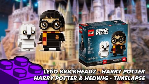 Lego #41615 - Brickheadz Harry Potter - Harry & Hedwig - Timelapse