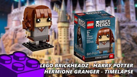 Lego #41616 - Brickheadz Harry Potter - Hermione Granger - Timelapse