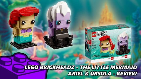 Lego #41623 - Brickheadz The Little Mermaid - Ariel & Ursual - Review