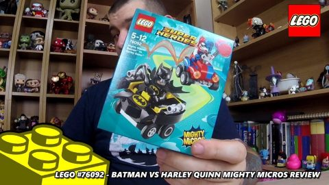 Lego #76092 - Batman vs Harley Quinn - Mighty Micros - Review