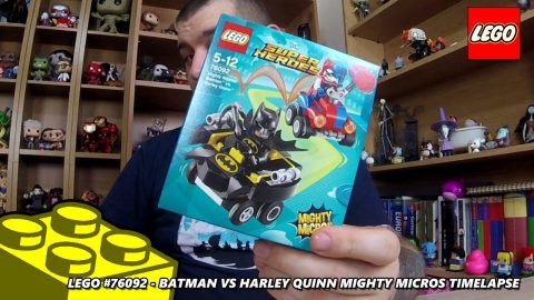 Lego #76092 - Batman vs Harley Quinn - Mighty Micros - Timelapse