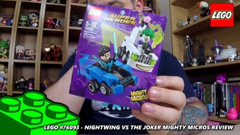Lego #76093 - Nightwing vs The Joker - Mighty Micros - Review