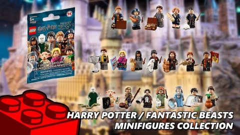 Lego Harry Potter/Fantastic Beasts Mini-figures Collection #3