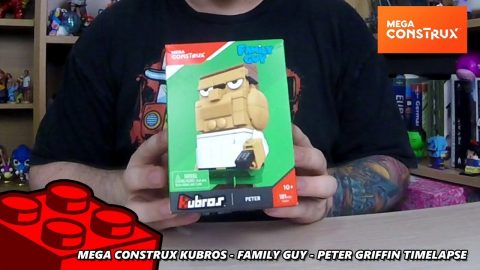 Mega Construx Kubros - Family Guy - Peter Griffin - Timelapse