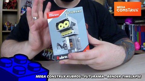 Mega Construx Kubros - Futurama Bender - Timelapse