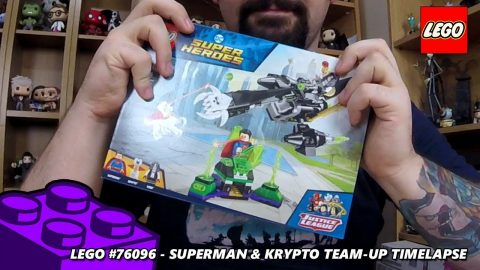 Superman & Krypto Team-Up - Timelaspe (Lego #76096 - DC Superheroes)