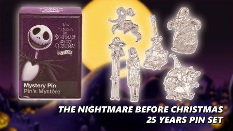 The Nightmare Before Christmas - 25 Years Pin Set