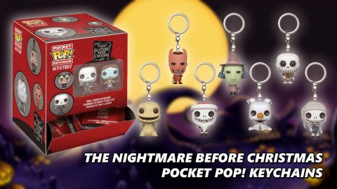 The Nightmare Before Christmas Pocket Pop! Keychains