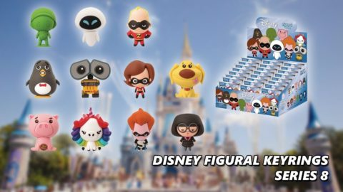 Disney Figural Keyrings - Series 8