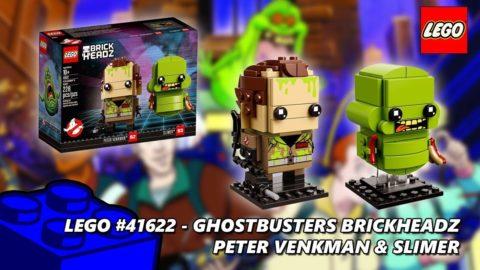 Lego #41622 Ghostbusters Brickheadz Peter Venkman & Slimer Timelapse