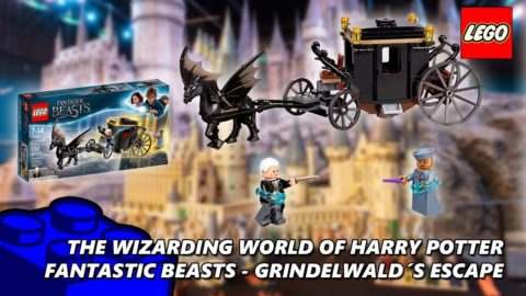 Lego #75951 Fantastic Beasts Grindelwald's Escape Timelapse (The Wizarding World Of Harry Potter)