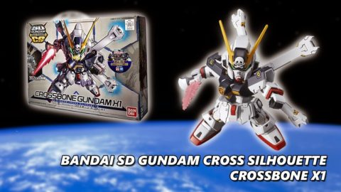 Bandai SD Gundam Cross Silhouette Crossbone X1 Timelapse