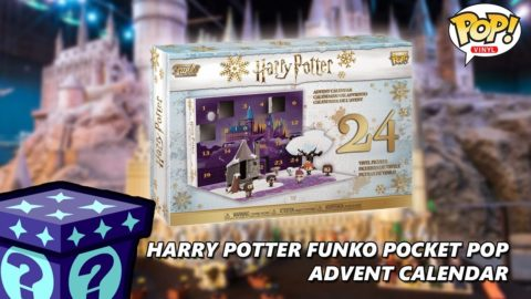 Harry Potter Funko Pocket Pop Advent Calendar - Day 1