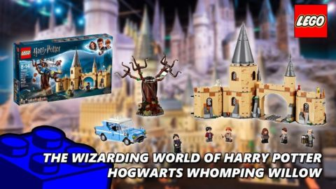 Lego #75953 Hogwarts Whomping Willow Timelapse (The Wizarding World Of Harry Potter)