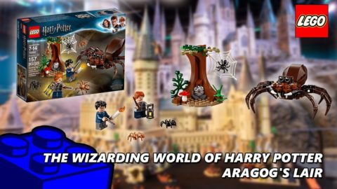 Lego #75950 Aragog's Lair Review (The Wizarding World Of Harry Potter)