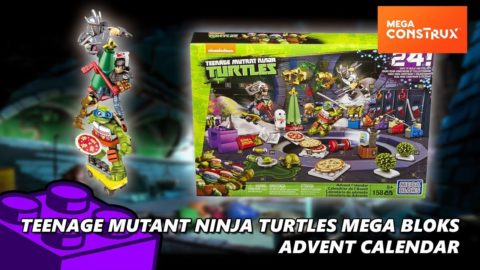 Teenage Mutant Ninja Turtles Mega Bloks Advent Calendar - Day 1