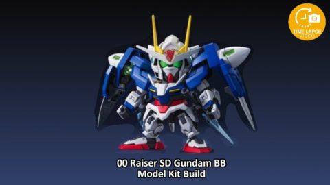 00Raiser SD Gundam BB Build Timelapse