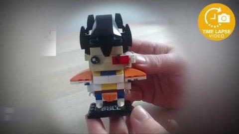 Decool CuteDoll Vegeta - Dragonball Z Timelapse (Lego Brickheadz Clone)