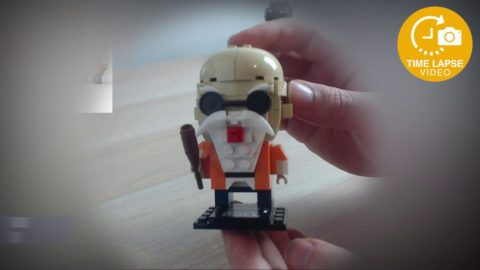 Decool CuteDoll Master Roshi - Dragonball Z Timelapse (Lego Brickheadz Clone)