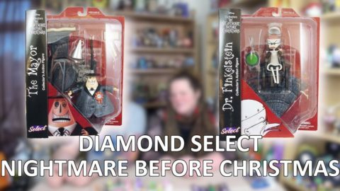 Dr Finklestien & Mayor Nightmare Before Christmas Diamond Select Unboxing