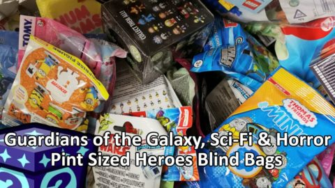 Guardians of the Galaxy, Sci-Fi & Horror Pint-Sized Heroes Blind Bag Opening