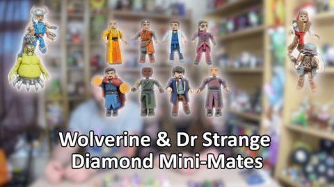 Wolverine & Dr Strange Minimates Unboxing