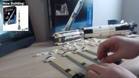 Lego Saturn V - More Chilled Building of this Epic Set #3