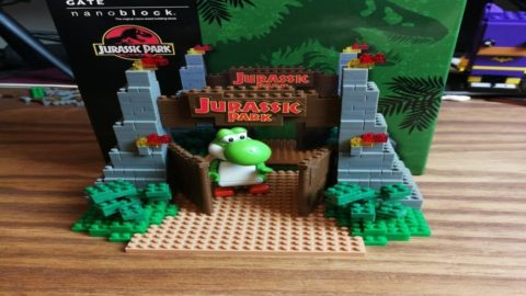 Nanoblock - Jurassic Park Gate - Universal Studios Japan - Chilled Brick Building Stream
