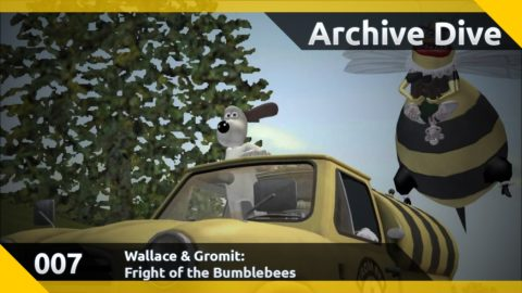 Archive Dive 007: Wallace & Gromit - Fright of the Bumble Bees (Part 1)