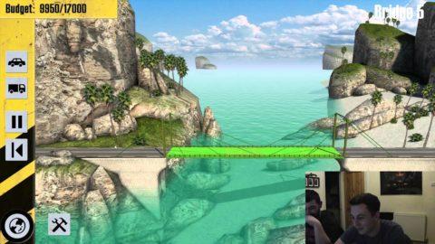 Drunken Gaming: Bridge Constructor #1