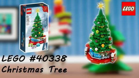 Lego #40338 Christmas Tree Timelapse