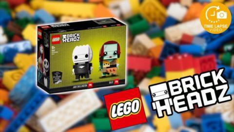 Lego #41630 Jack Skellington & Sally Timelapse (Brickheadz)