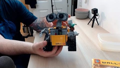 BootLego Build: WALL•E #21303 Clone (Lepin/Jack #83003)