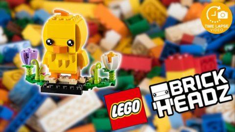 Lego #40350 Easter Chick Timelapse (Brickheadz)