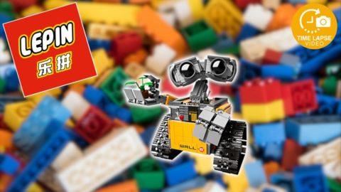 Lepin/Nuogao Builerds #83003 Wall-E Timelapse (Lego #21303)