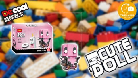 Decool CuteDoll Gwenpool Timelapse/Speed Build (Lego Brickheadz Clone)