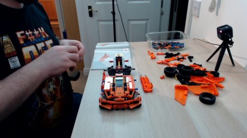 Lets finish building the Lego Technic Corvette ZR1