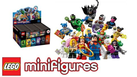 DC Lego Mini-figure Collection Mystery Bag Opening #1