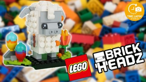 Lego #40380 Easter Sheep Timelapse (Brickheadz)