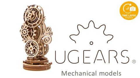 UGears - Wooden Steampunk 3D Puzzle Kit Timelapse